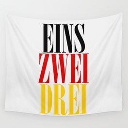 EINS ZWEI DREI Wall Tapestry