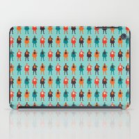 heroes iPad Cases featuring Heroes by Tomas Hudolin