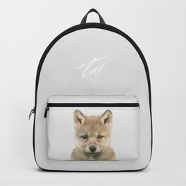 Baby Wolf Backpack