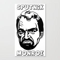 Sputnik Monroe Canvas Print