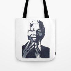 Nelson 'Madiba' Mandela Tote Bag
