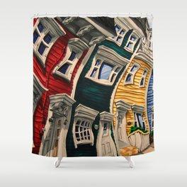 Prescott Street Shower Curtain