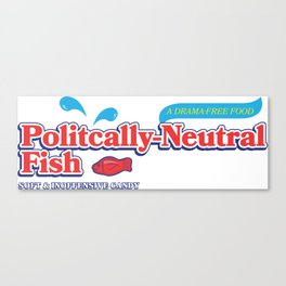 Politically Neutral Fish Canvas Print