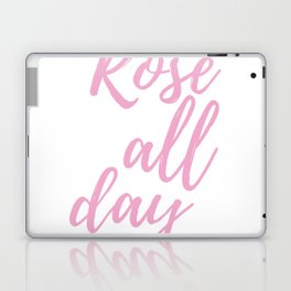 pink all day Laptop & iPad Skin