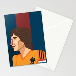 Johan Cruyff, The Godfather of Modern Football Stationery Cards