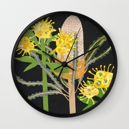 Acorn Banksia Wall Clock