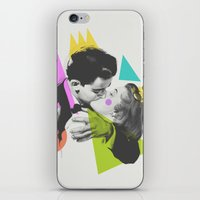 kiss iPhone & iPod Skins featuring Kiss by Zeke Tucker