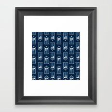 So Many Points in Time & Space Framed Art Print