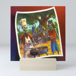 Say Cheese and Die! Mini Art Print