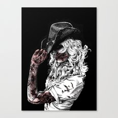 Tip of the Hat Canvas Print