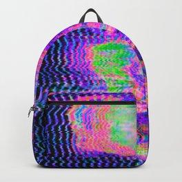 Glitch Face Backpack