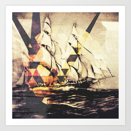 When Your Ship Comes In Art Print