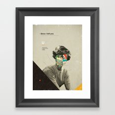 Since I Left You Framed Art Print