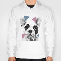 frenchie Hoodies featuring Frenchie by Esco