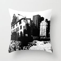 GRIND Throw Pillow