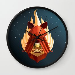 The Sly Counselor Wall Clock