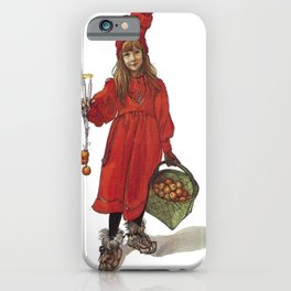 Iduna and Her Magic Apples iPhone Case