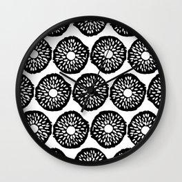 Abstract Hand Drawn Patterns No.8 Wall Clock