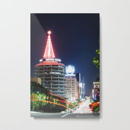 Christmas in Hollywood - day one color Metal Print