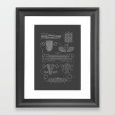 Classic Grills Framed Art Print