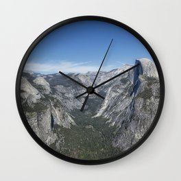 Half Dome from Glacier Point Wall Clock
