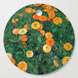 Marigolds by Koloman Moser, 1909 Cutting Board