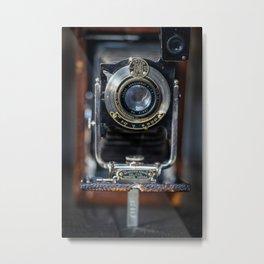 1910s Vintage Kodak Metal Print