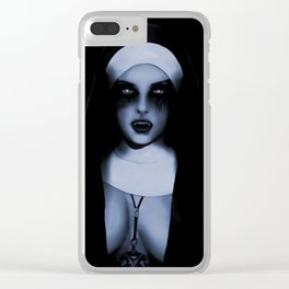 UNHOLY Clear iPhone Case