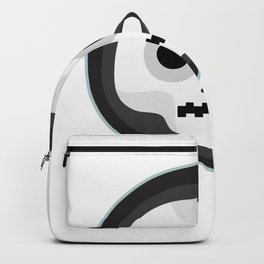 skull zipper Backpack
