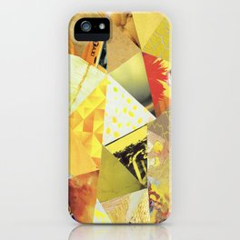 Collage - They Call Me Mellow Yellow iPhone Case