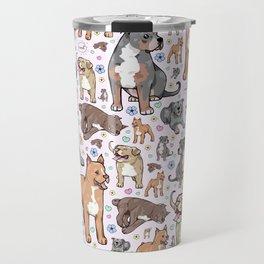 Cute Pitbulls Travel Mug