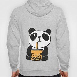 Bubbly Panda Drinking Bubble Tea Hoody