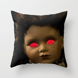 Dolly in the Attic IV Throw Pillow