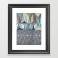 Nordic Combination 31 Framed Art Print