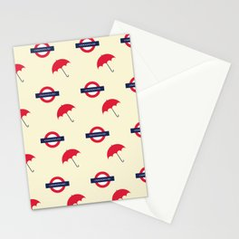 Classic London underground. Stationery Cards