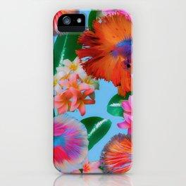 Hawaiian Print III iPhone Case