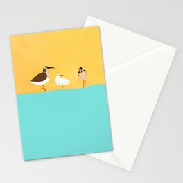 scolopacidae birds Stationery Cards