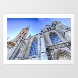 Mathias Church Budapest Art Print