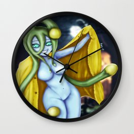 Suu the slime monster girl. Wall Clock