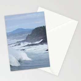Crashing Waves In Blue Stationery Cards