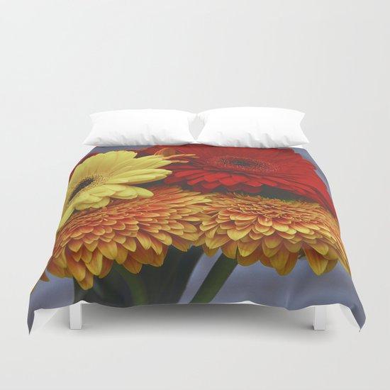 Colorful Germini Duvet Cover