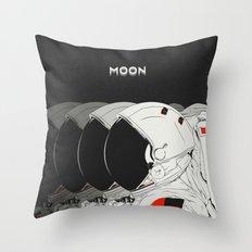 M. Throw Pillow
