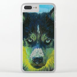 Husky II Clear iPhone Case