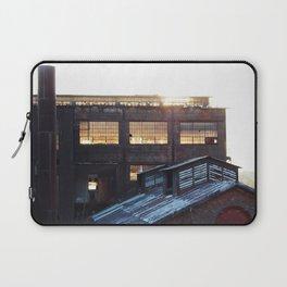 Bethlehem Steel Wear House at sunset. Laptop Sleeve