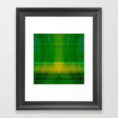green hope Framed Art Print