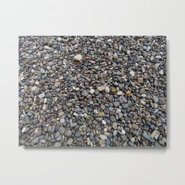 What Stories You Could Tell... Rocks of Jasper Beach Metal Print