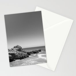 Birds sit on rocks along Rancho Palos Verdes coastline Stationery Cards