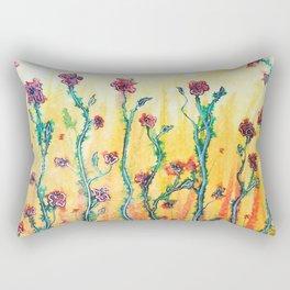 Flower Light Rectangular Pillow