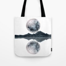 Caught Between the moon Tote Bag