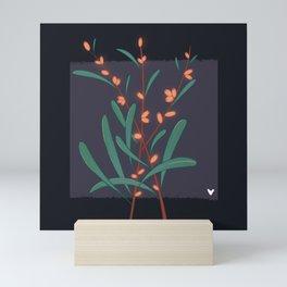 Sea buckthorn Cosmic flowers and plants Mini Art Print